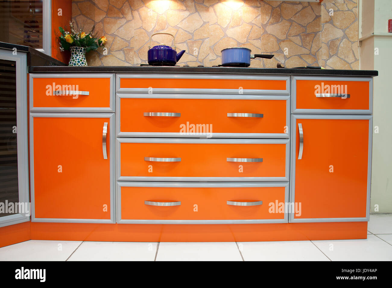 Elegant Kitchen - Stock Image