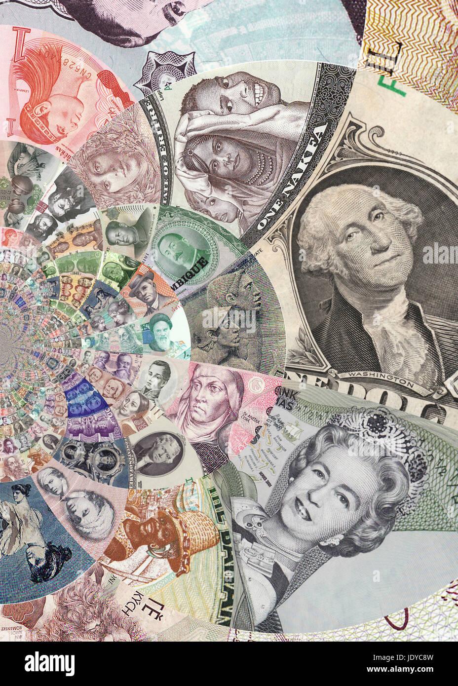 Banknotes - Stock Image