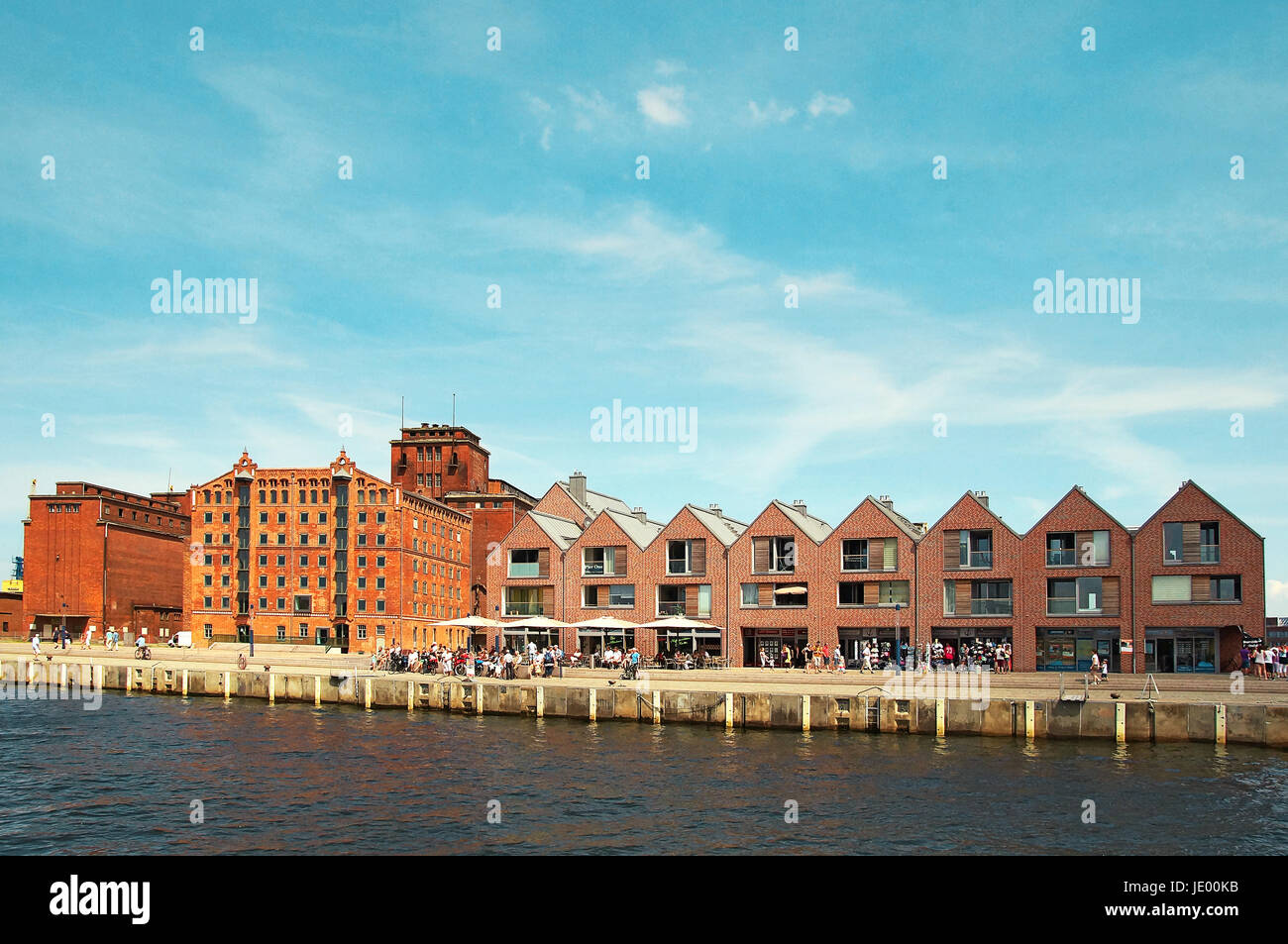 Hafen Hansestadt Wismar Deutschland / Port Hanseatic City Wismar Germany Stock Photo