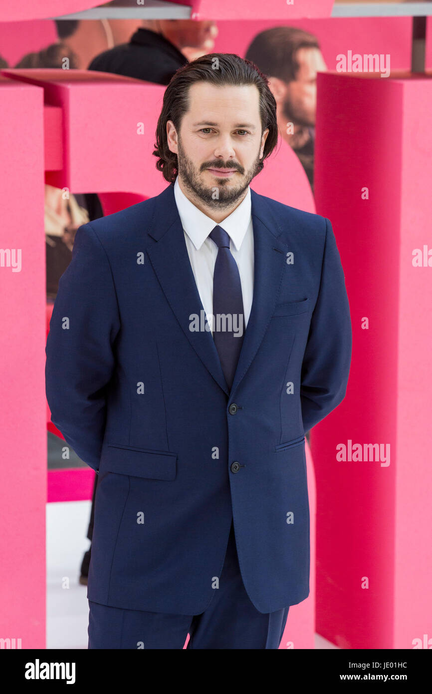 London, UK. 21st June, 2017. Film director Edgar Wright arrives for the European Premiere of Baby Driver. Credit: Stock Photo