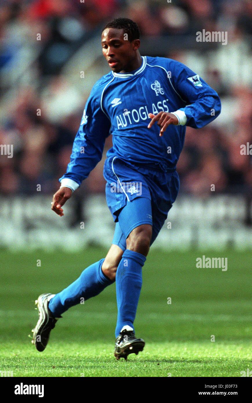 CELESTINE BABAYARO CHELSEA FC 04 March 2000 - Stock Image