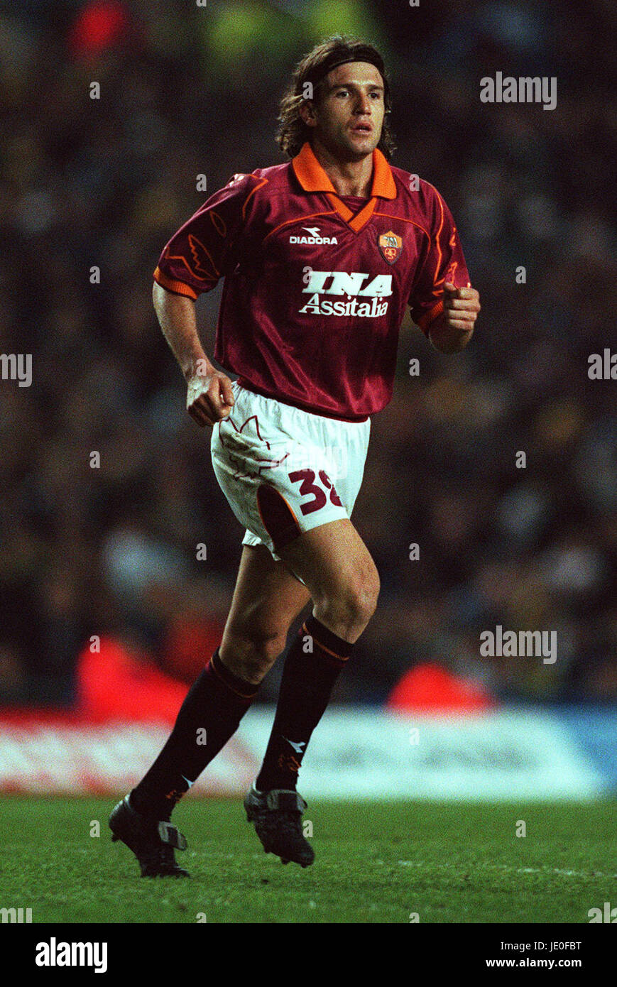 VINCENT CANDELA AS ROMA 09 March 2000 - Stock Image