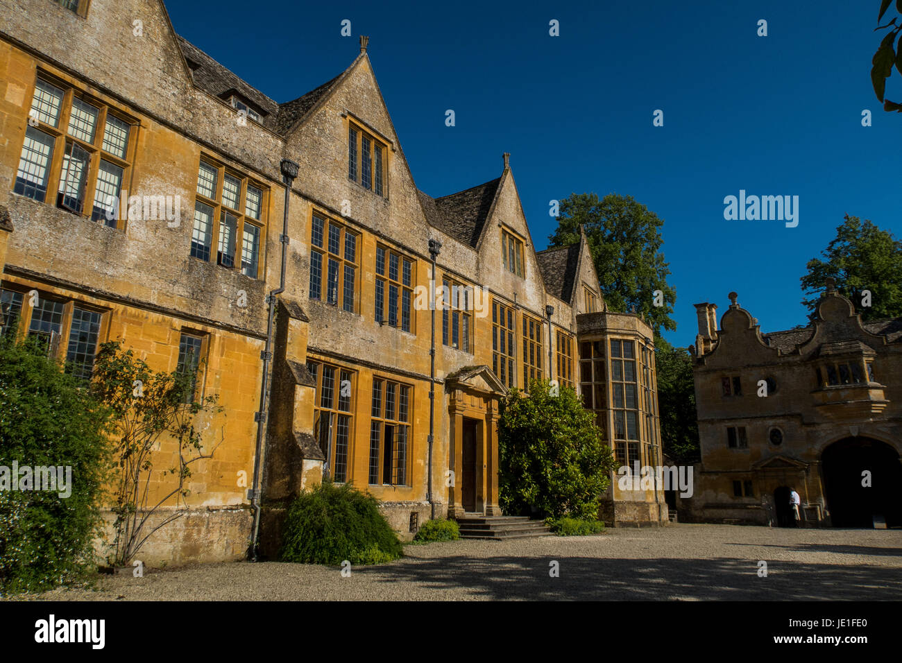 Stanway House in Gloucestershire, England. Stock Photo
