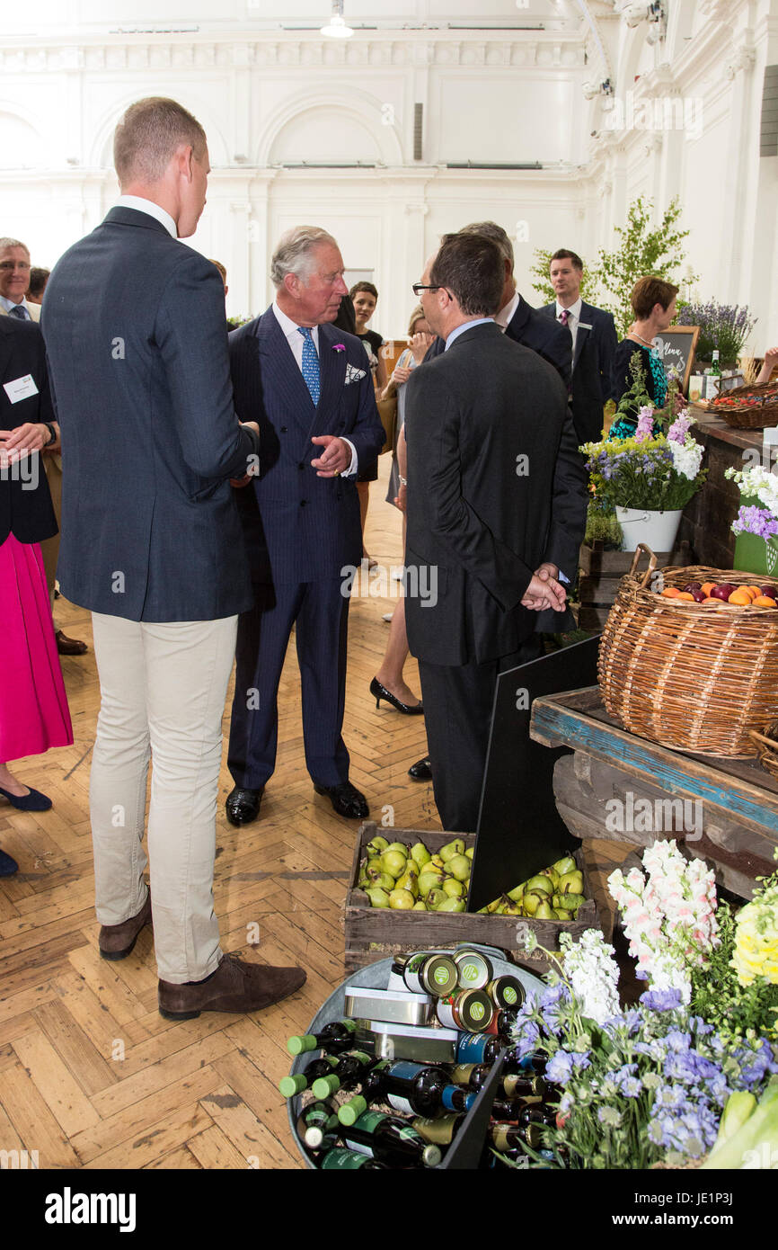Duchy originals organic stock photos duchy originals organic stock london uk 22 june 2017 the prince of wales visits the duchy izmirmasajfo