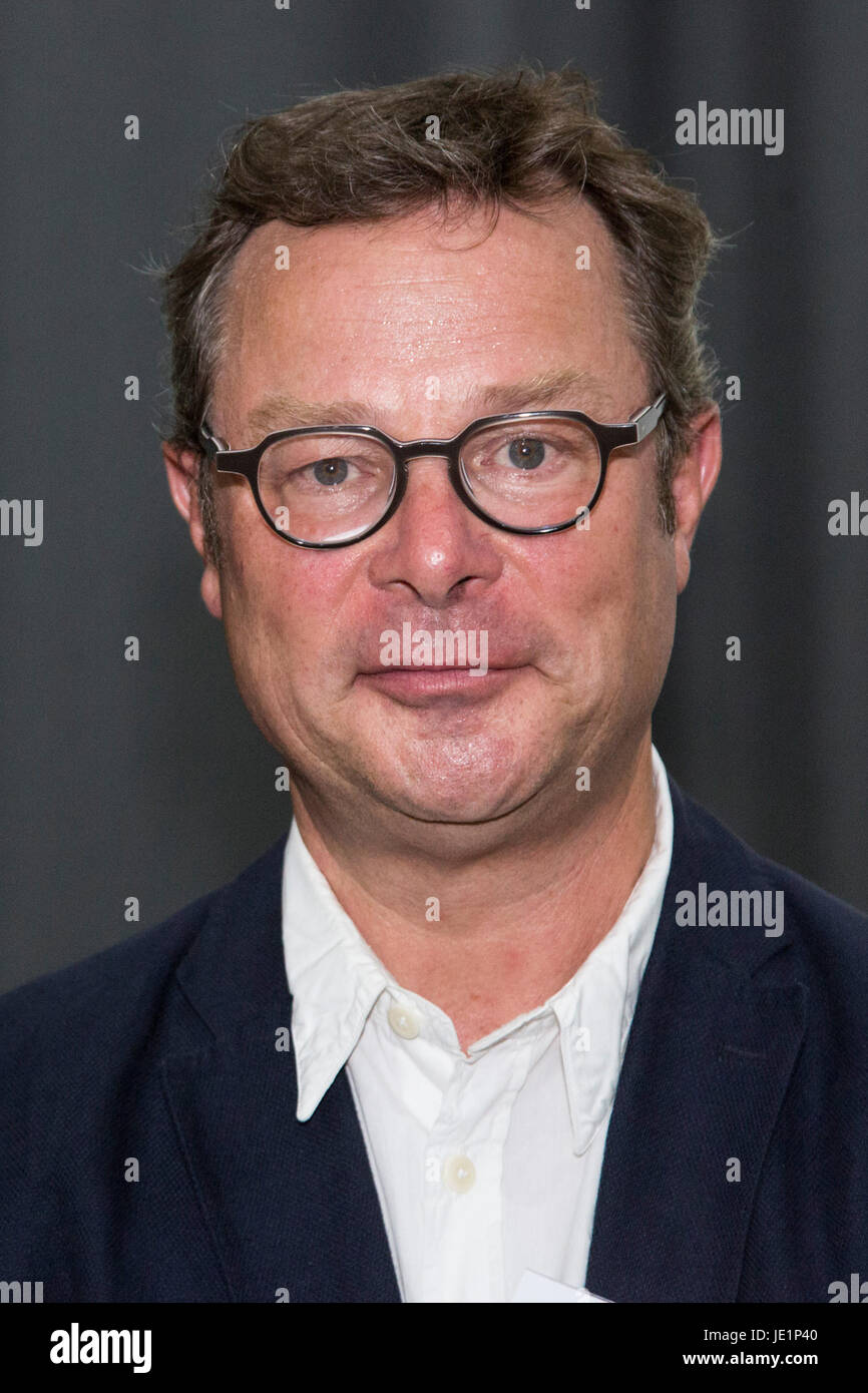 London, UK. 22 June 2017. Hugh Fearnley-Whittingstall attends the reception. Prince Charles, The Prince of Wales, - Stock Image