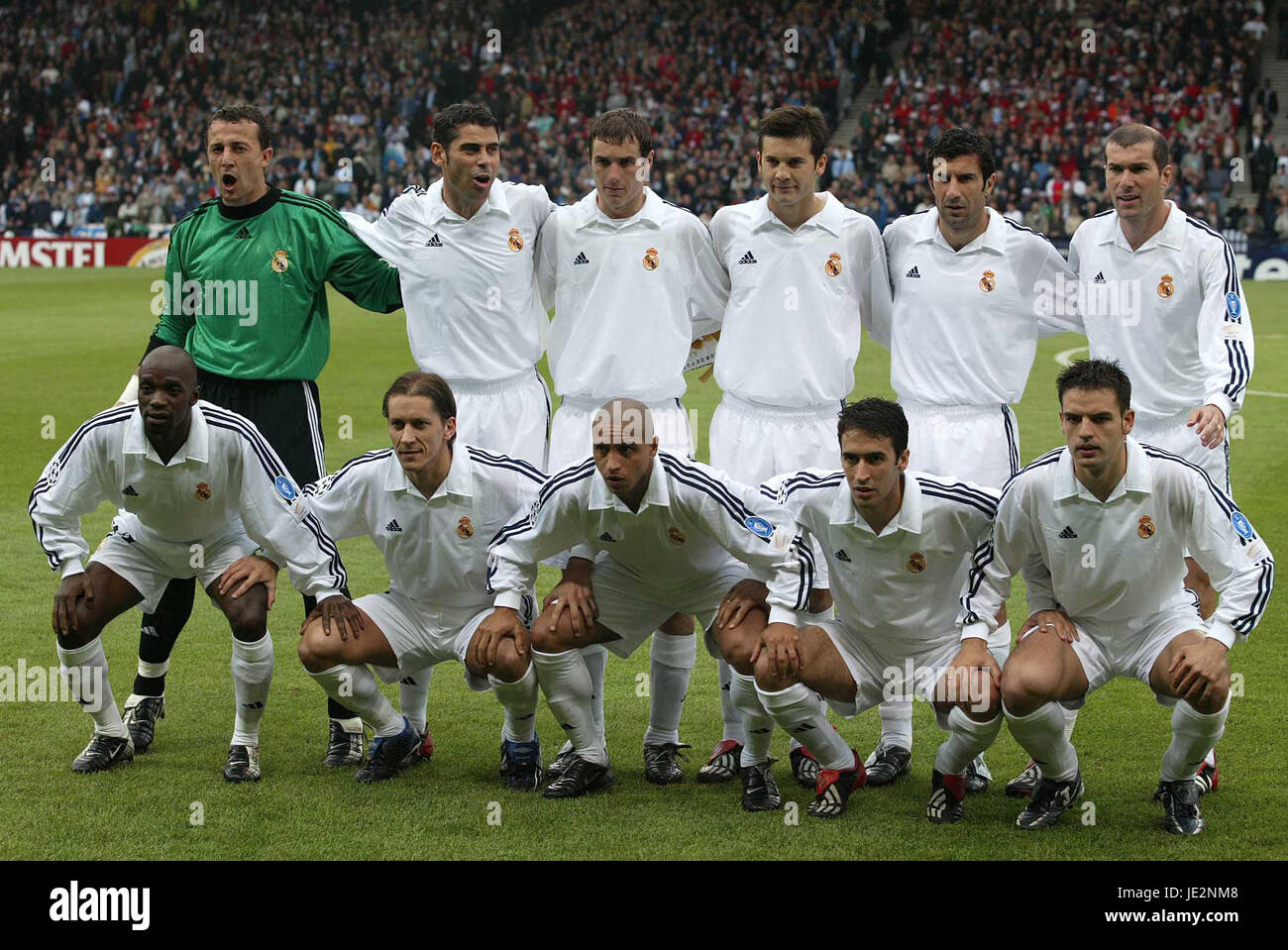 Real Madrid Bayer Leverkusen V Real Madrid Hampden Park Glasgow 15 Stock Photo Alamy