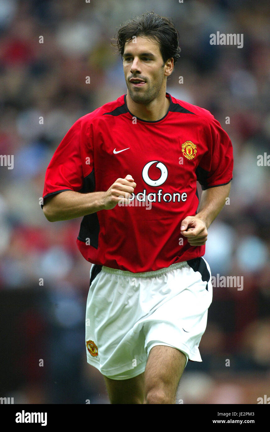 wholesale dealer 174d6 bf7b1 RUUD VAN NISTELROOY MANCHESTER UNITED FC OLD TRAFFORD ...