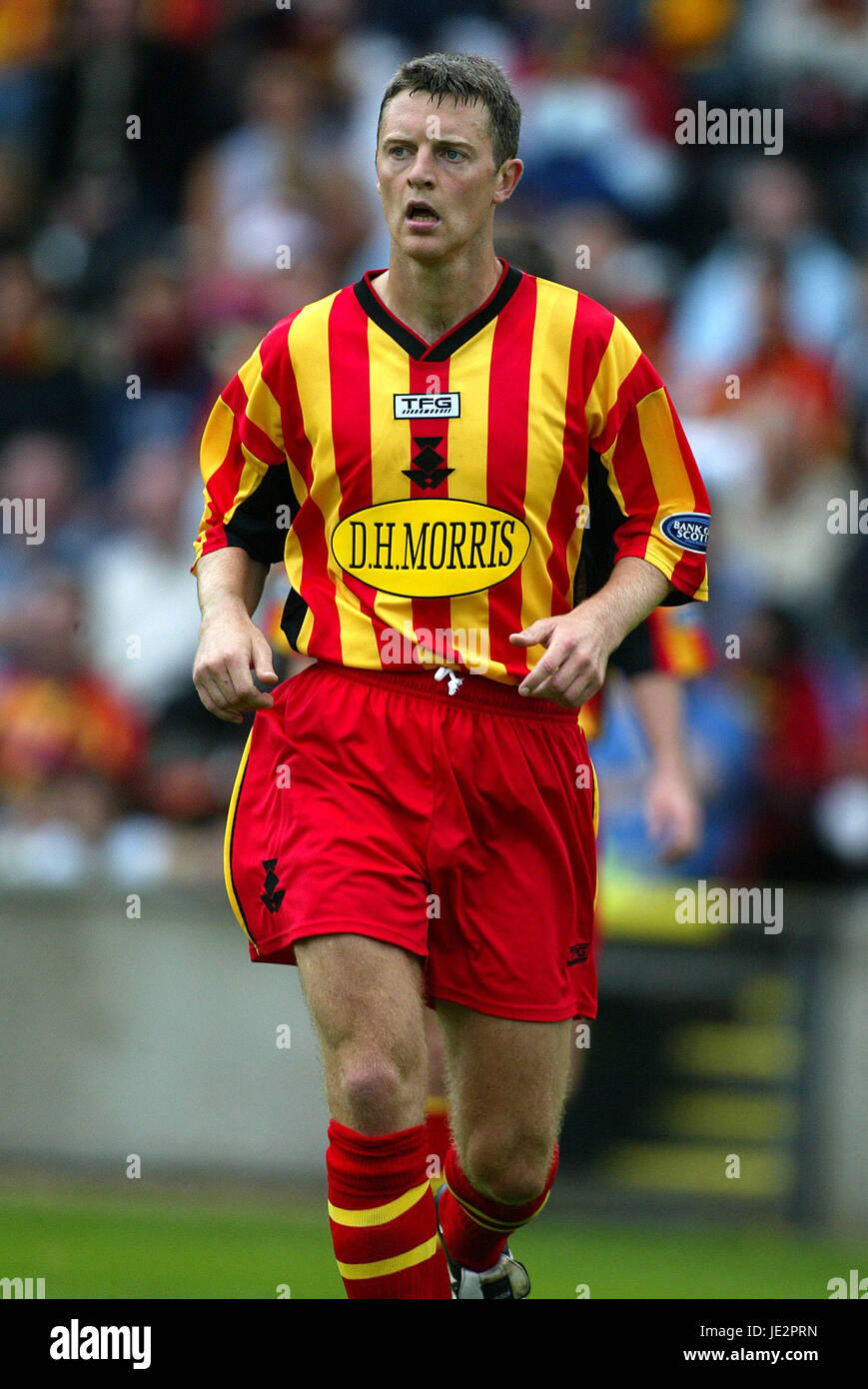 STEPHEN CRAIGAN PARTICK THISTLE FC FIRHILL GLASGOW SCOTLAND 03 August 2002 - Stock Image