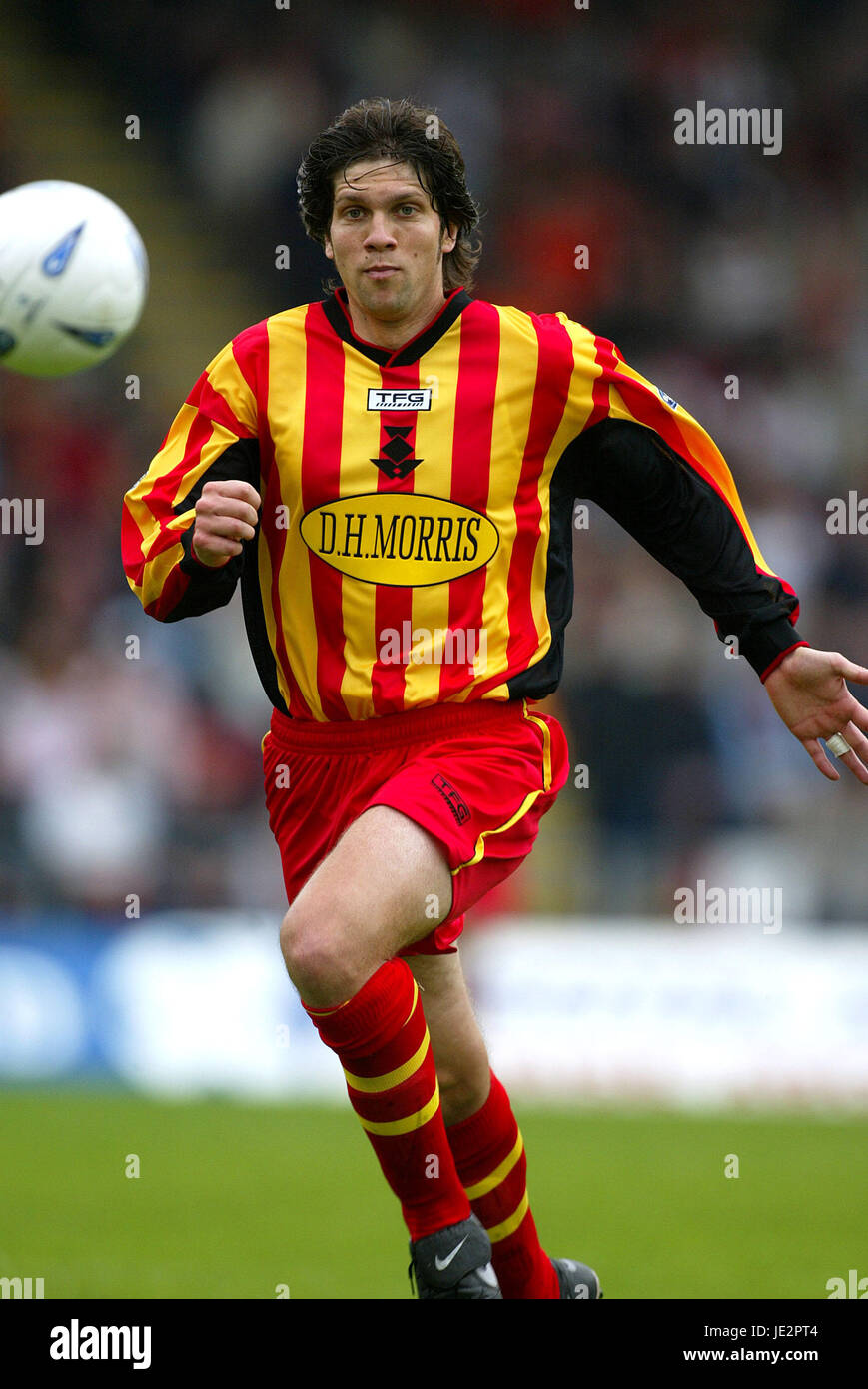 SCOTT PATERSON . PARTICK THISTLE FC FIRHILL GLASGOW SCOTLAND 03 August 2002 - Stock Image