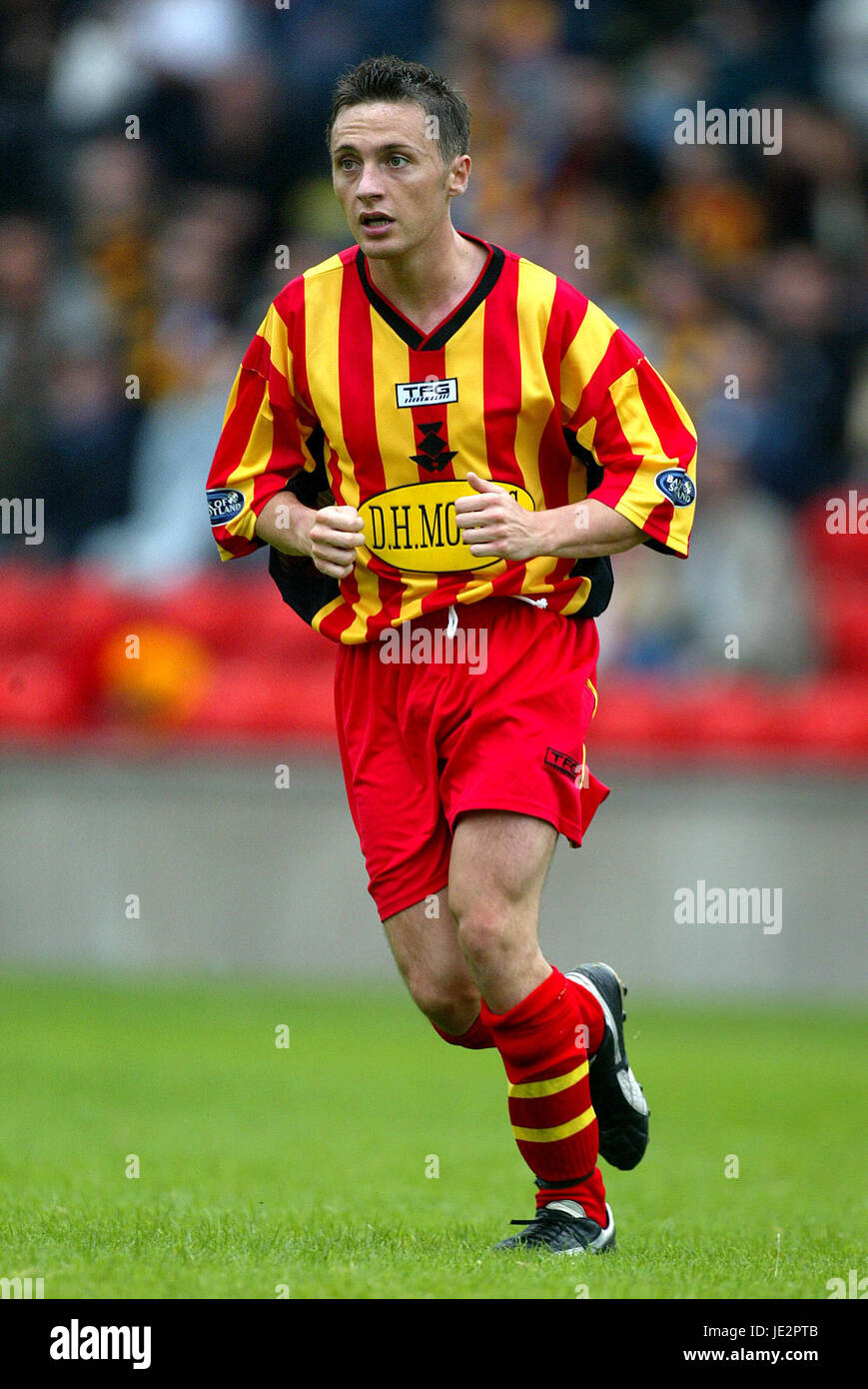 JAMIE MITCHELL PARTICK THISTLE FC FIRHILL GLASGOW SCOTLAND 03 August 2002 Stock Photo