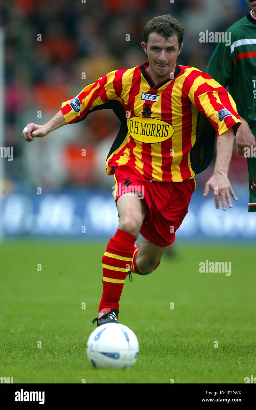 PAUL WALKER PARTICK THISTLE FC FIRHILL GLASGOW SCOTLAND 03 August 2002 - Stock Image