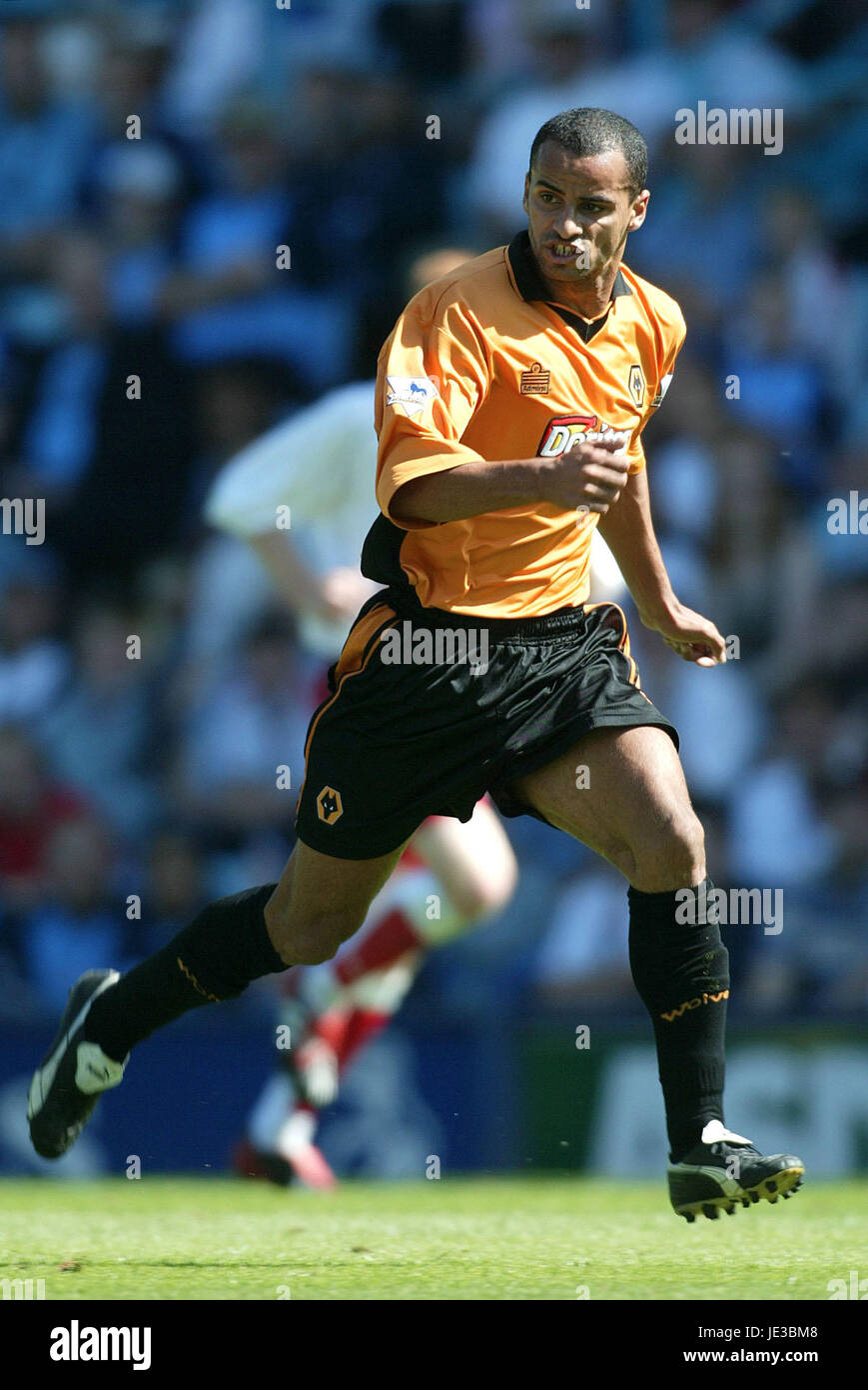 SILAS WOLVERHAMPTON WANDERERS FC HIGHFIELD ROAD COVENTRY ENGLAND 02 August 2003 - Stock Image