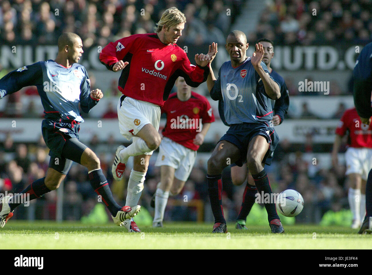 David Beckham England Manchester United Stock S & David