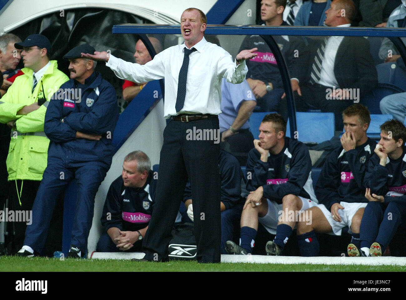 GARY MEGSON WEST BROMWICH ALBION MANAGER HORTHORNS WEST BROM Stock