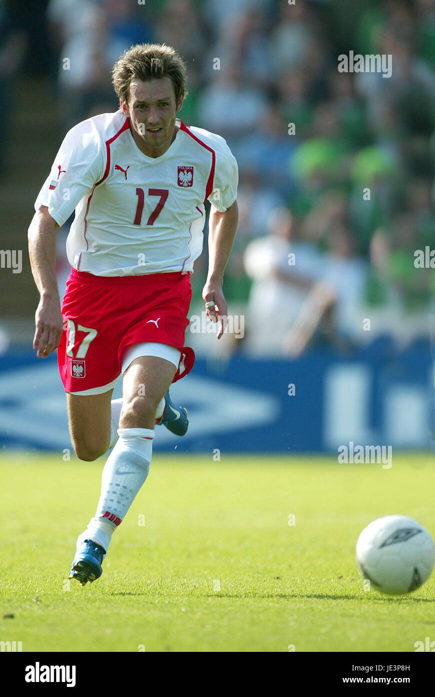 DAMIAN GORAWSKI POLAND WINDSOR PARK BELFAST NORTHERN IRELAND 05 September 2004 - Stock Image