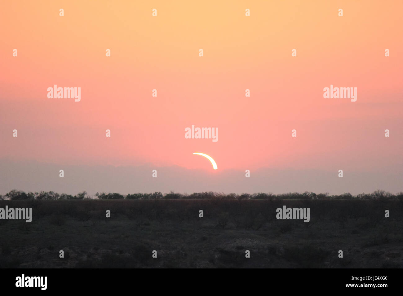 Ring of Fire Solar Eclipse #9 - Stock Image
