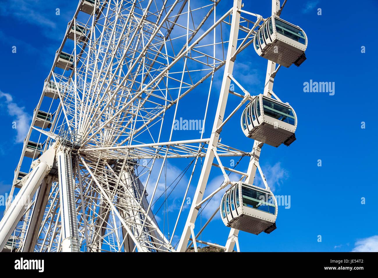 Ferris Wheel at Andorra la Vella, Andorra Stock Photo