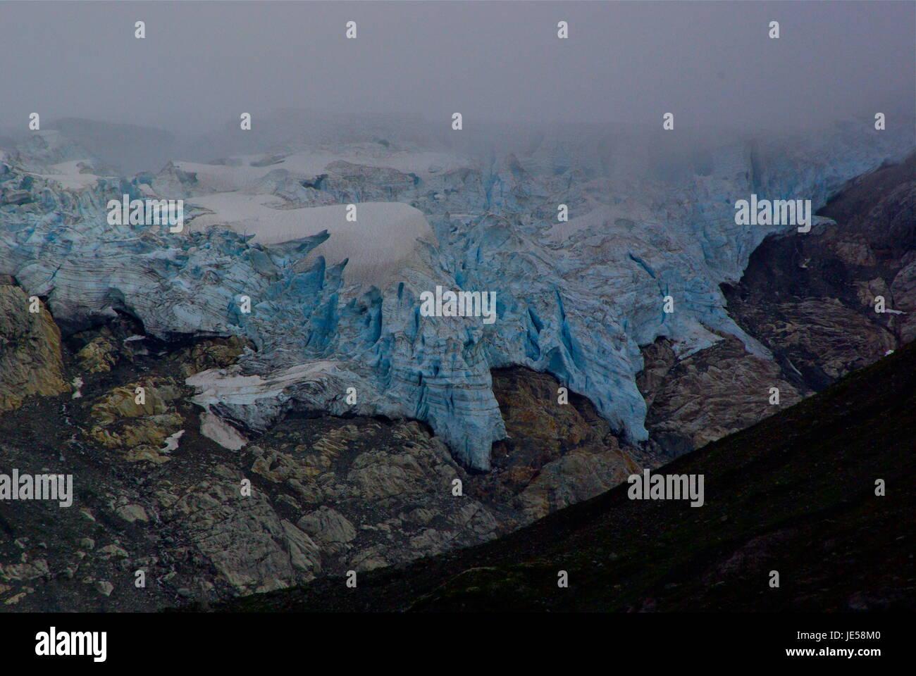 Glacier Bay Alaska - Stock Image