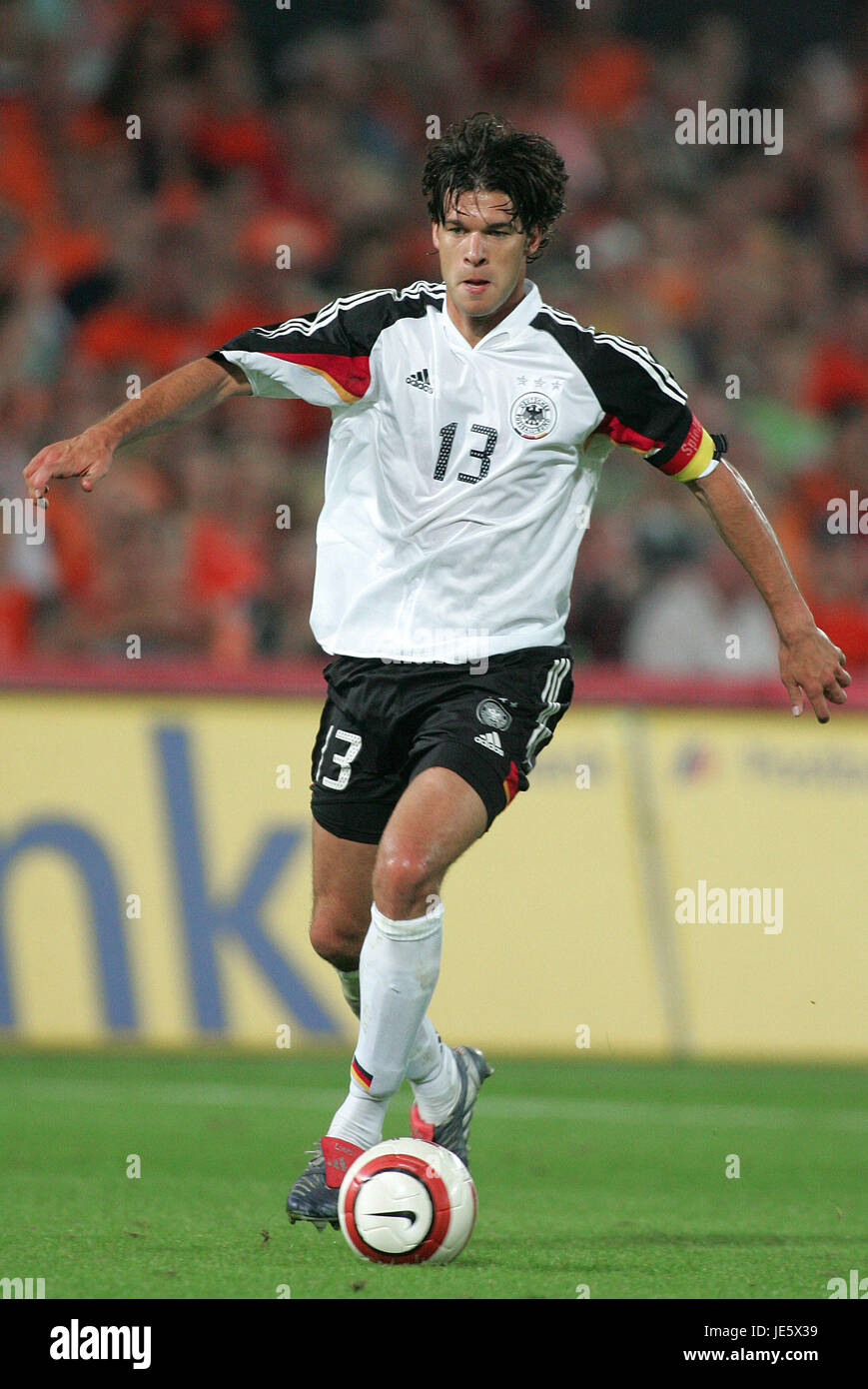 Michael Ballack Germany Munich Fc Germany Holland Stock Photos and Images