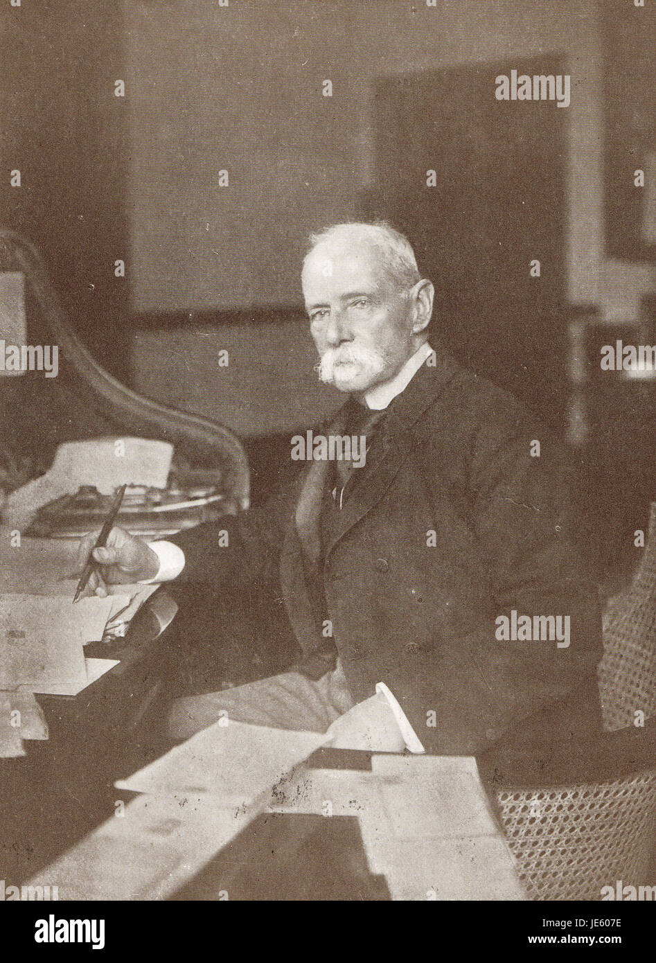 Field Marshal Lord Roberts 1832-1914 - Stock Image