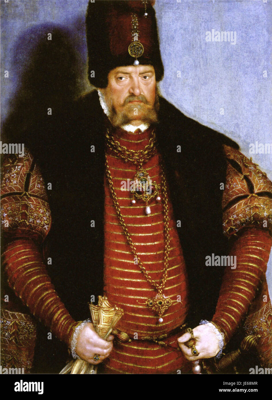 Joachim II of Brandenburg by Lucas Cranach the Younger - Stock Image