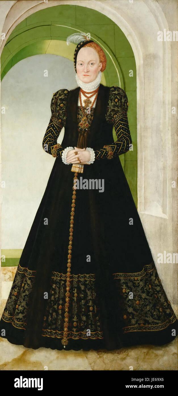 Lucas Cranach d. J. 011 - Stock Image