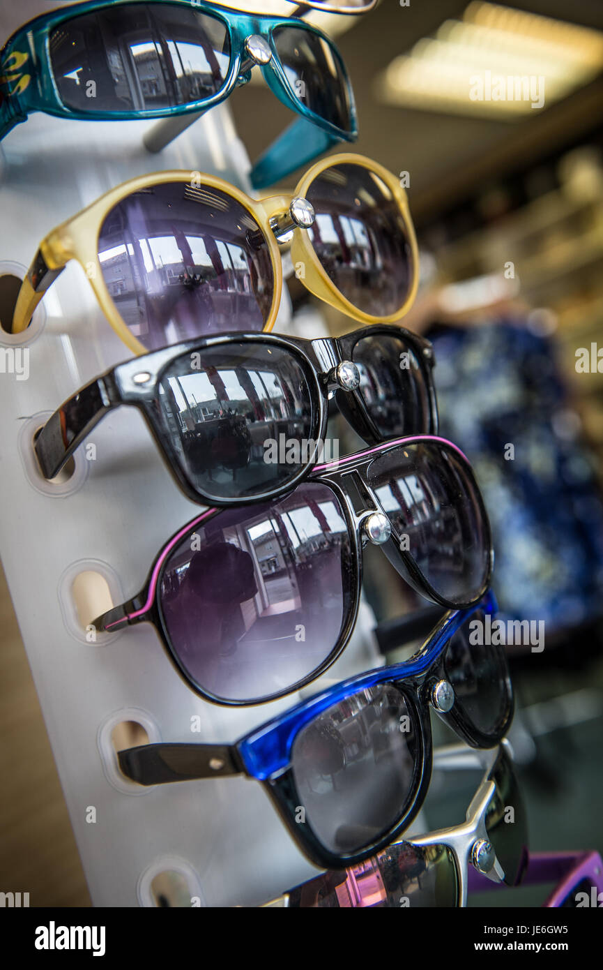Copyrighted Image by Paul Slater/PSI -  Items on sale in a charity shop. - Stock Image