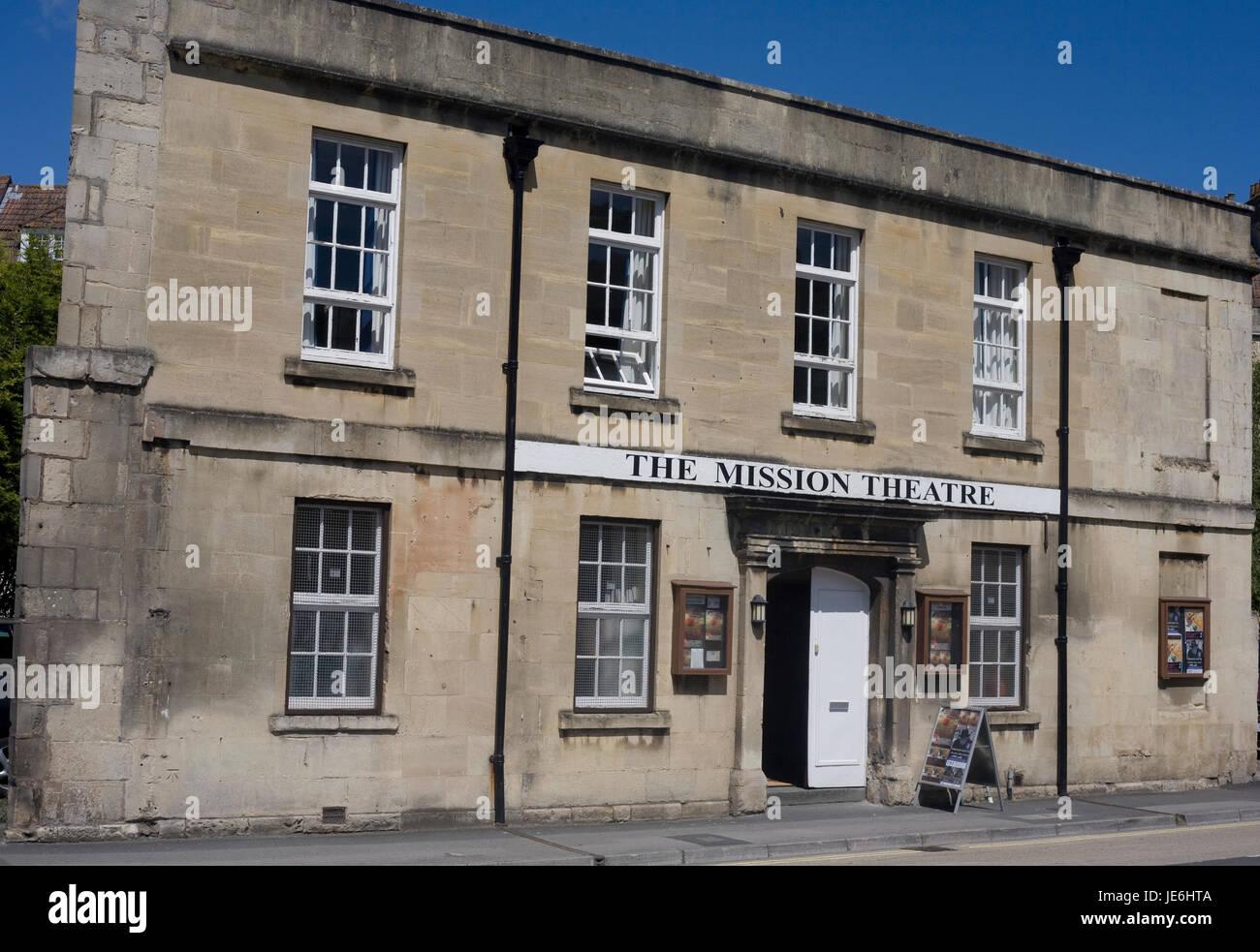 The Mission Theatre in Bath - Stock Image