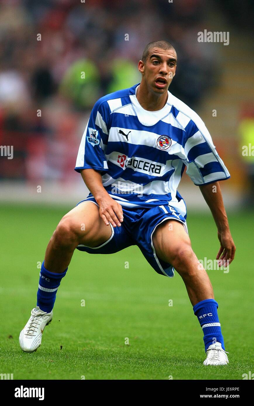JAMES HARPER READING FC BRAMALL LANE SHEFFIELD ENGLAND 16 September 2006 - Stock Image