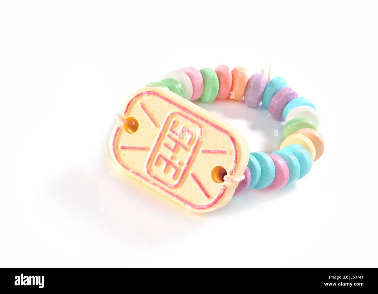 Sweetness, bracelet, clock, - Stock Image