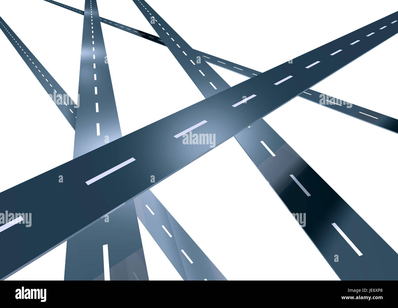 Highways, - Stock Image