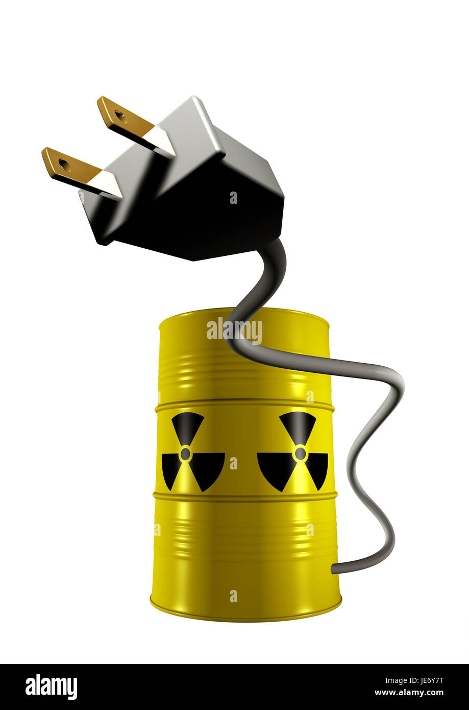 Nuclear energy, nuclear energy, Strecker, current, - Stock Image