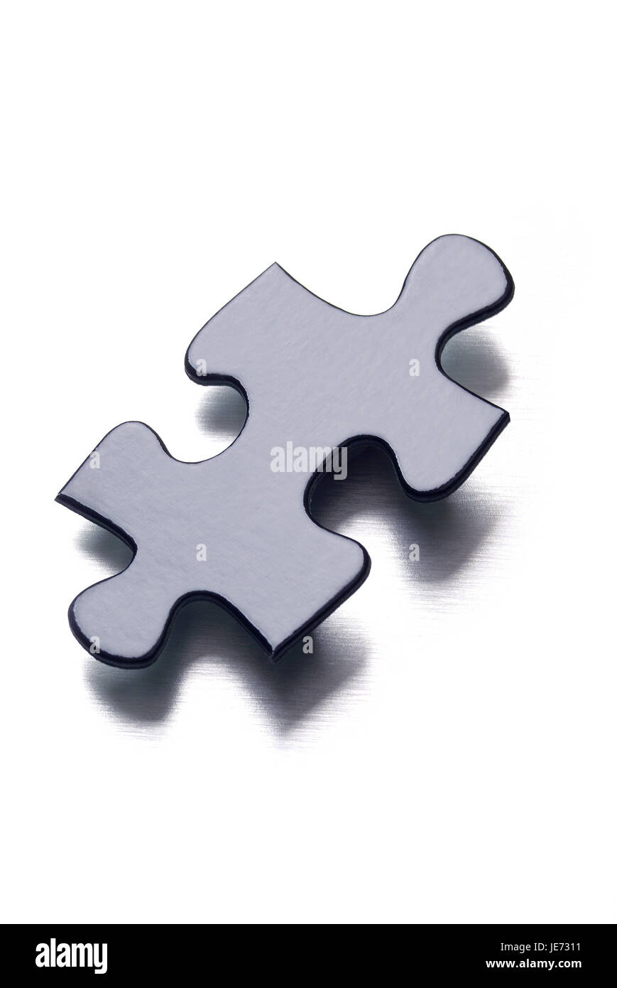 Jigsaw puzzle part, - Stock Image