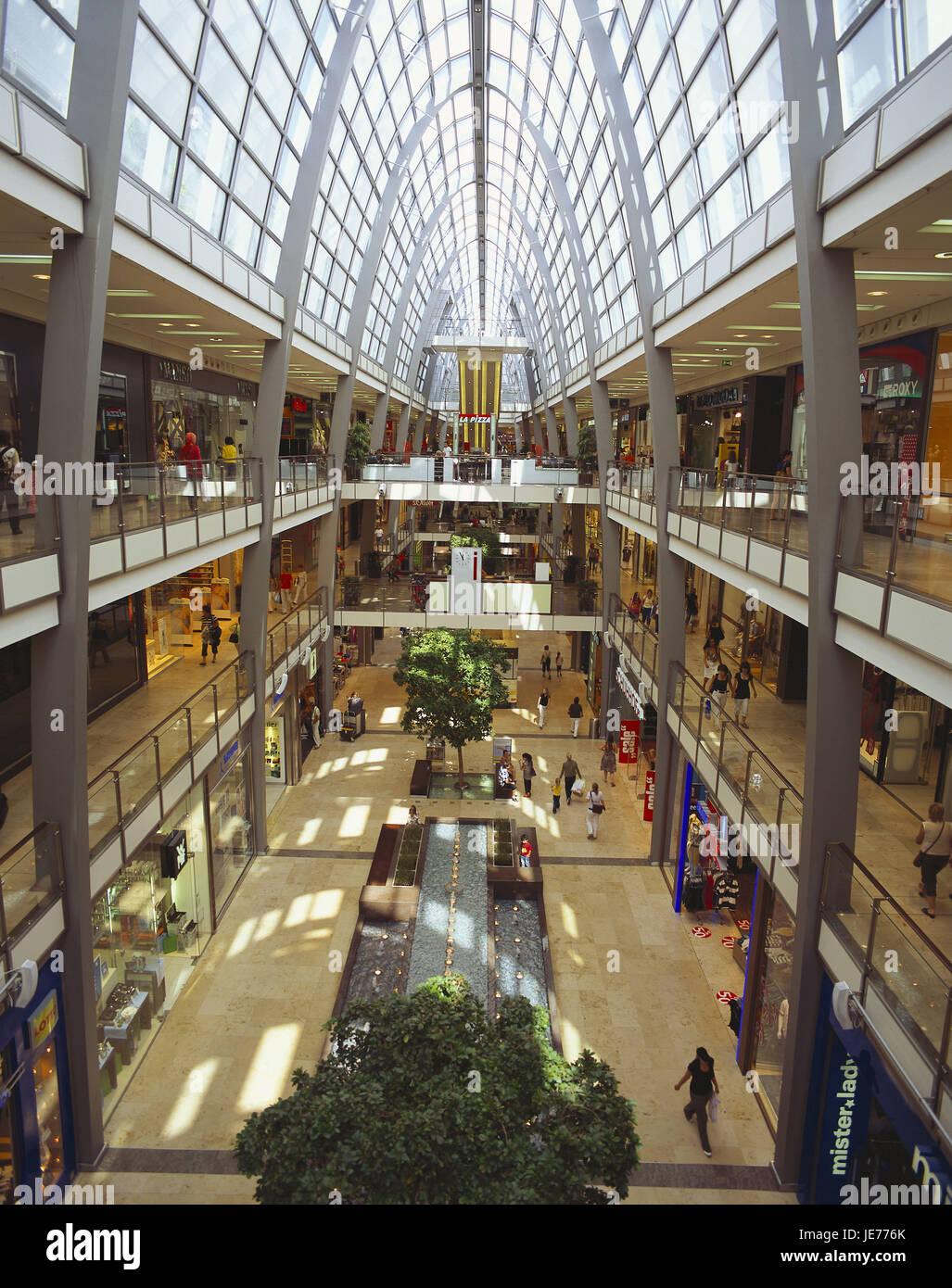 Germany Baden Wurttemberg Karlsruhe Shopping Centre Ettlinger Of