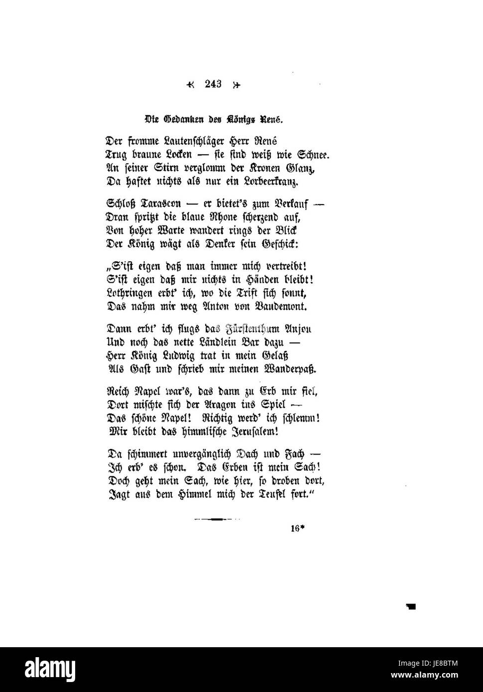 Conrad Ferdinand Meyer Gedichte 243 Stock Photo 146473060