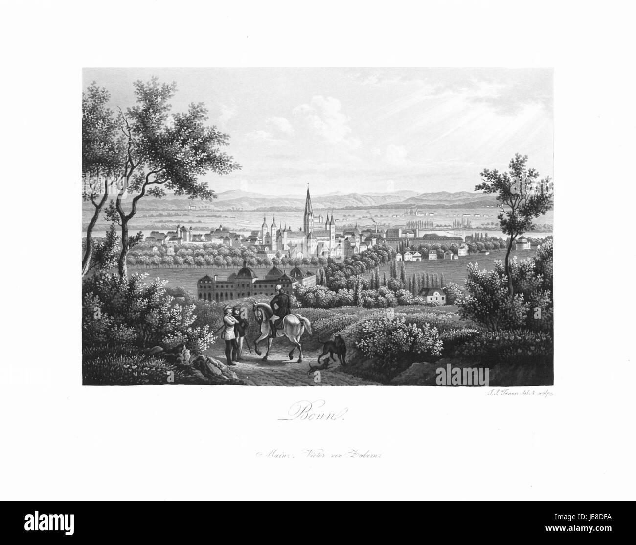 Andenken an den Rhein (1840) 025 - Stock Image