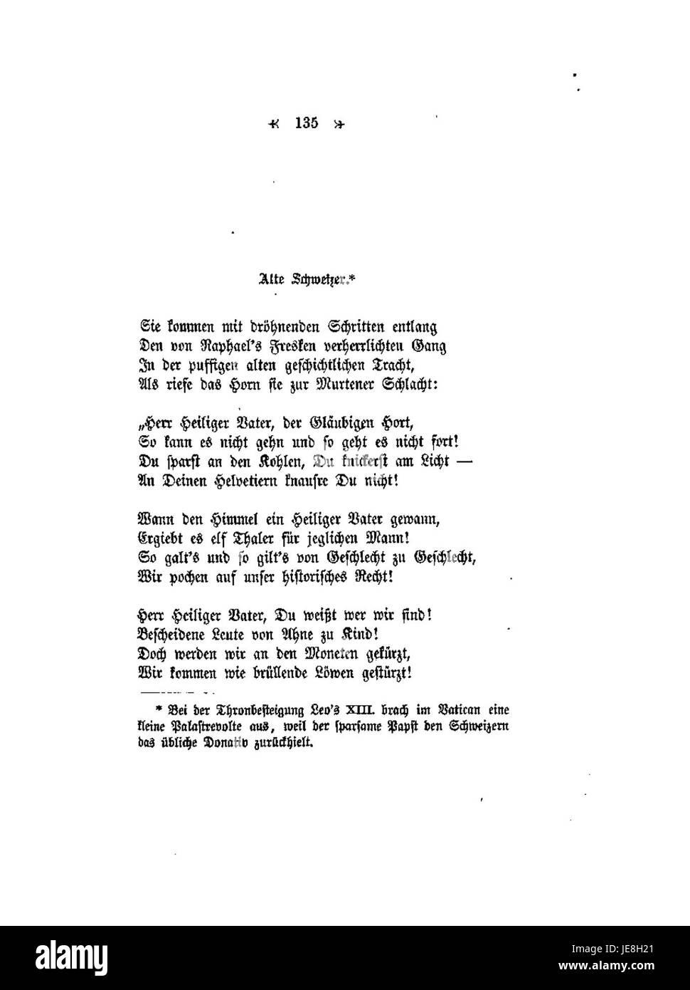 Conrad Ferdinand Meyer Gedichte 135 Stock Photo 146477129