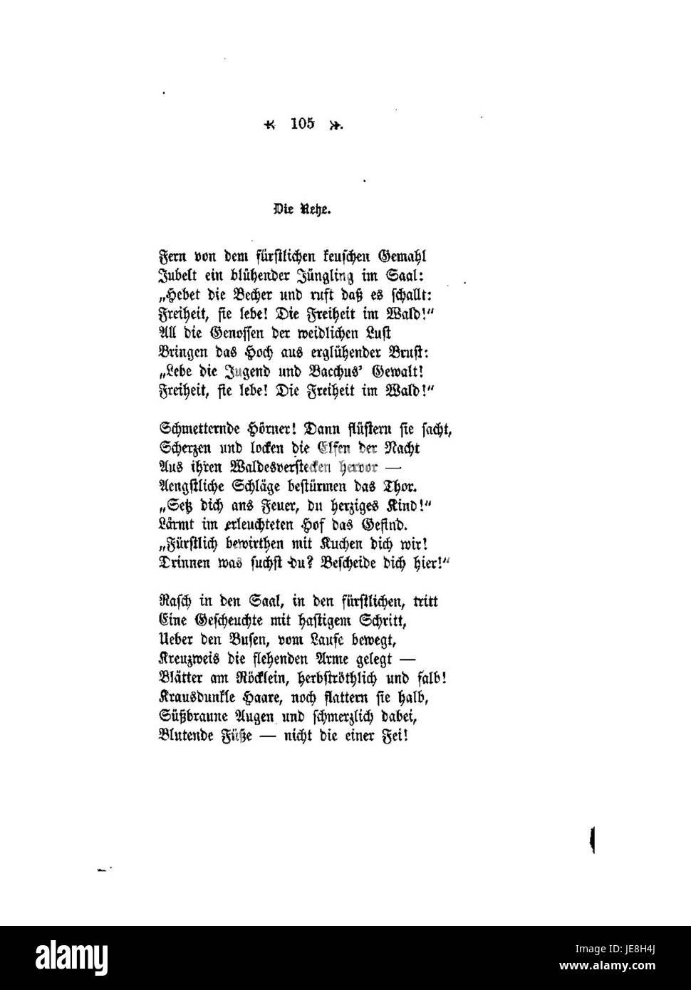 Conrad Ferdinand Meyer Gedichte 105 Stock Photo 146477202