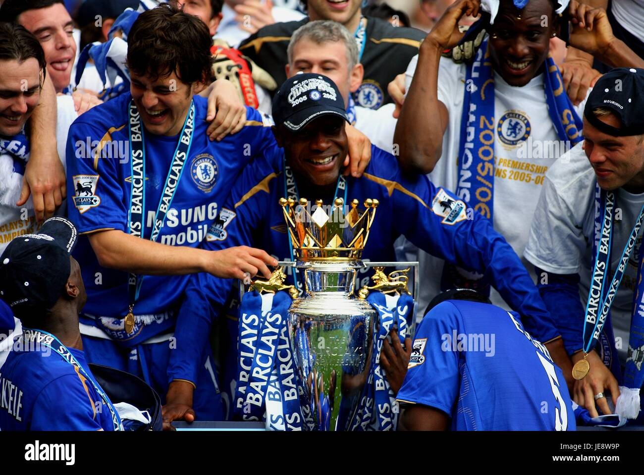Chelsea Celebrate Chelsea V Manchester United Stamford