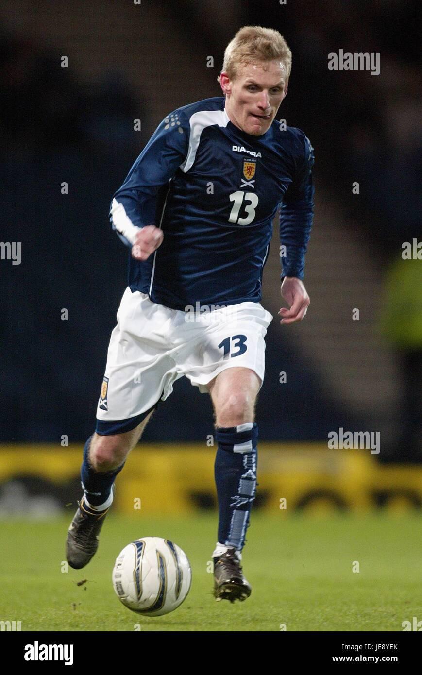 GARY TEALE SCOTLAND & WIGAN ATHLETIC FC HAMPDEN PARK GLASGOW SCOTLAND 01 March 2006 - Stock Image