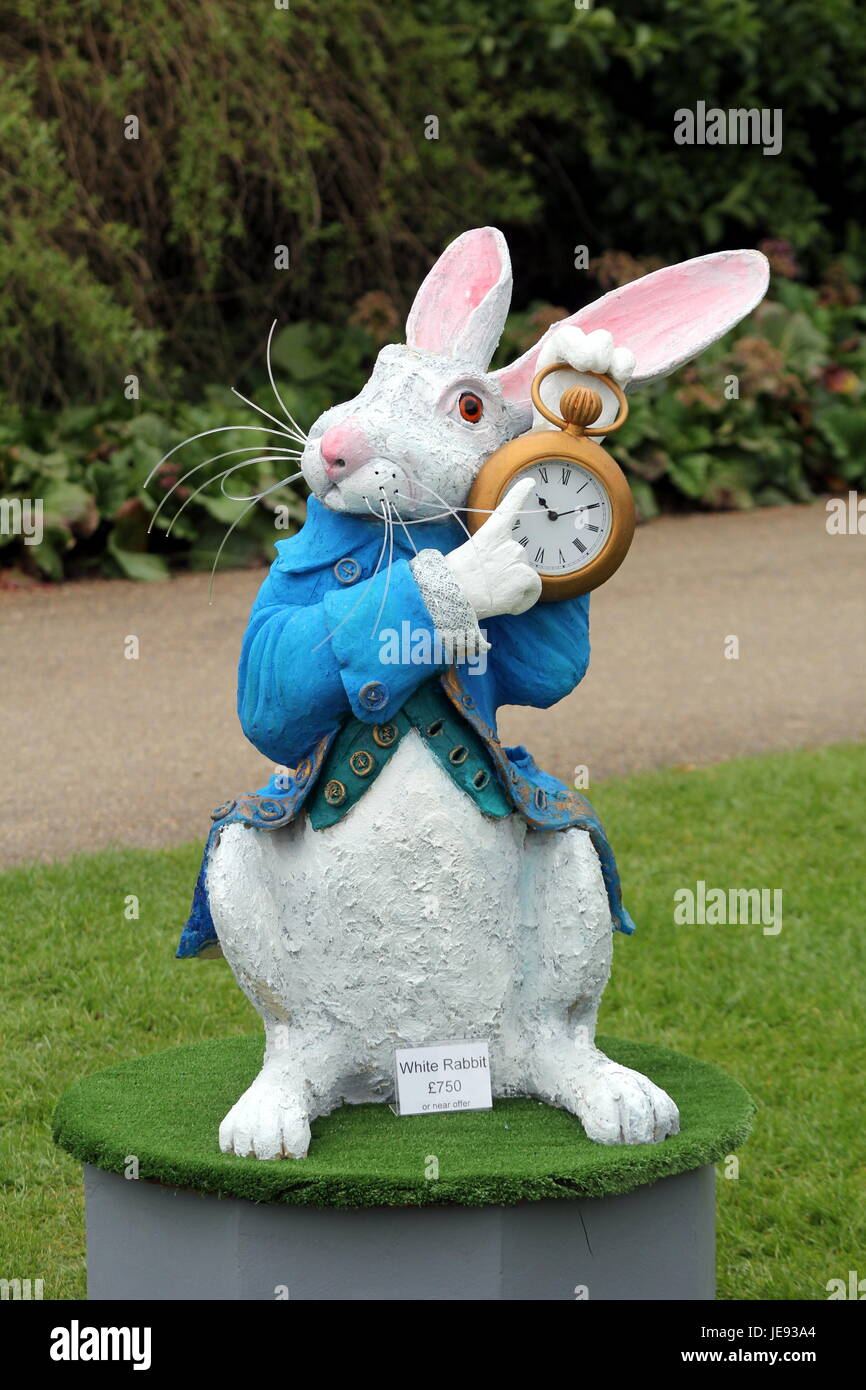 Garden Ornament Or Statue Of The White Rabbit From Quot Alice