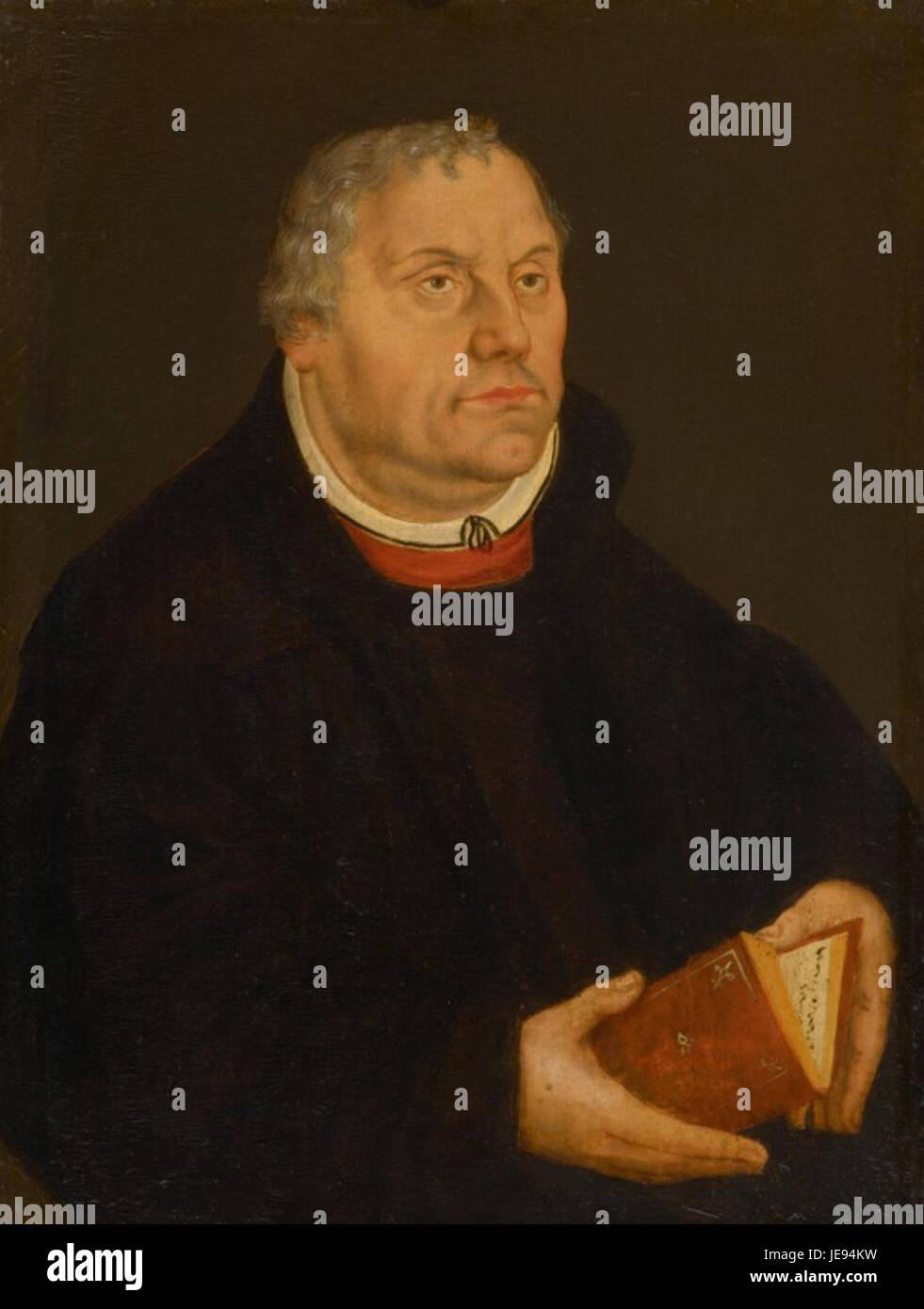 Lucas Cranach d. J. 014 - Stock Image