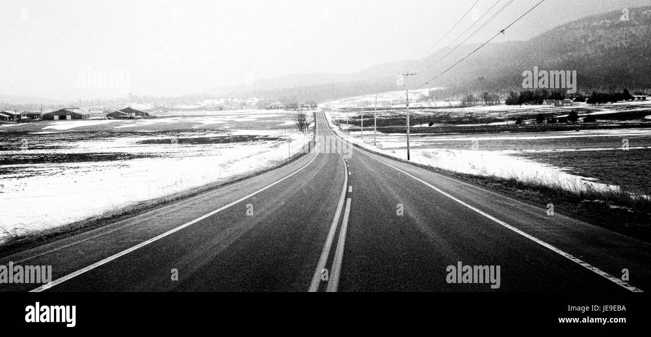2014-365-81 Vermont Roads (13333788573) Stock Photo