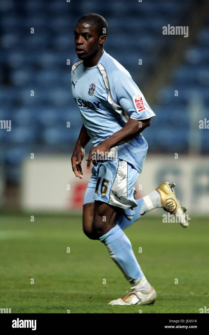 ISAAC OSBOURNE COVENTRY CITY FC RICOH STADIUM COVENTRY ENGLAND 12 November 2007 - Stock Image