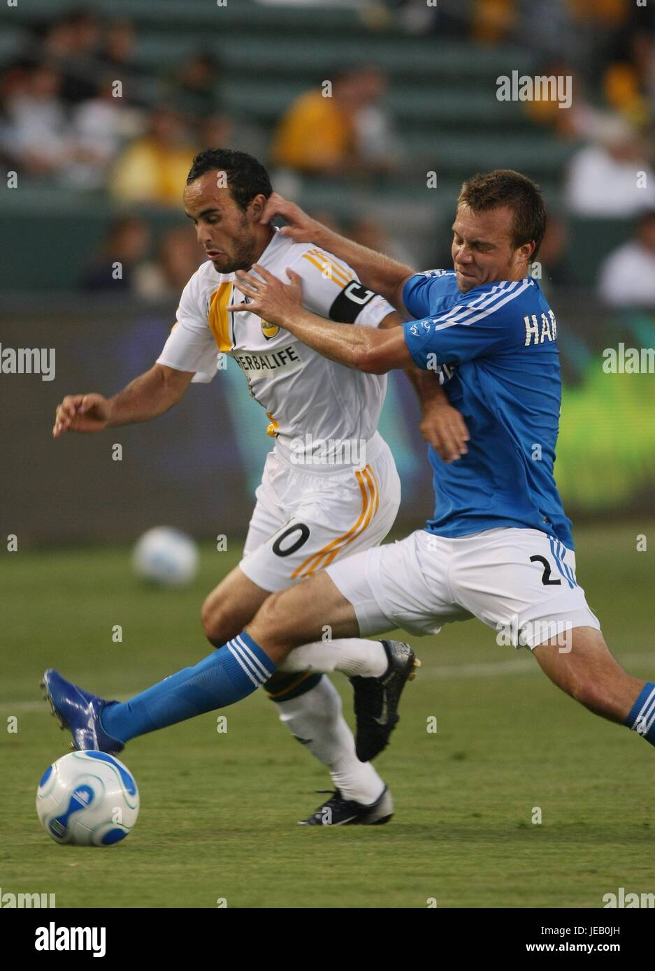 a768fad87b5 LANDON DONOVAN MICHAEL HARRIN LA GALAXY V KANSAS CITY HOME DEPOT CENTER  CARSON LOS ANGELES USA