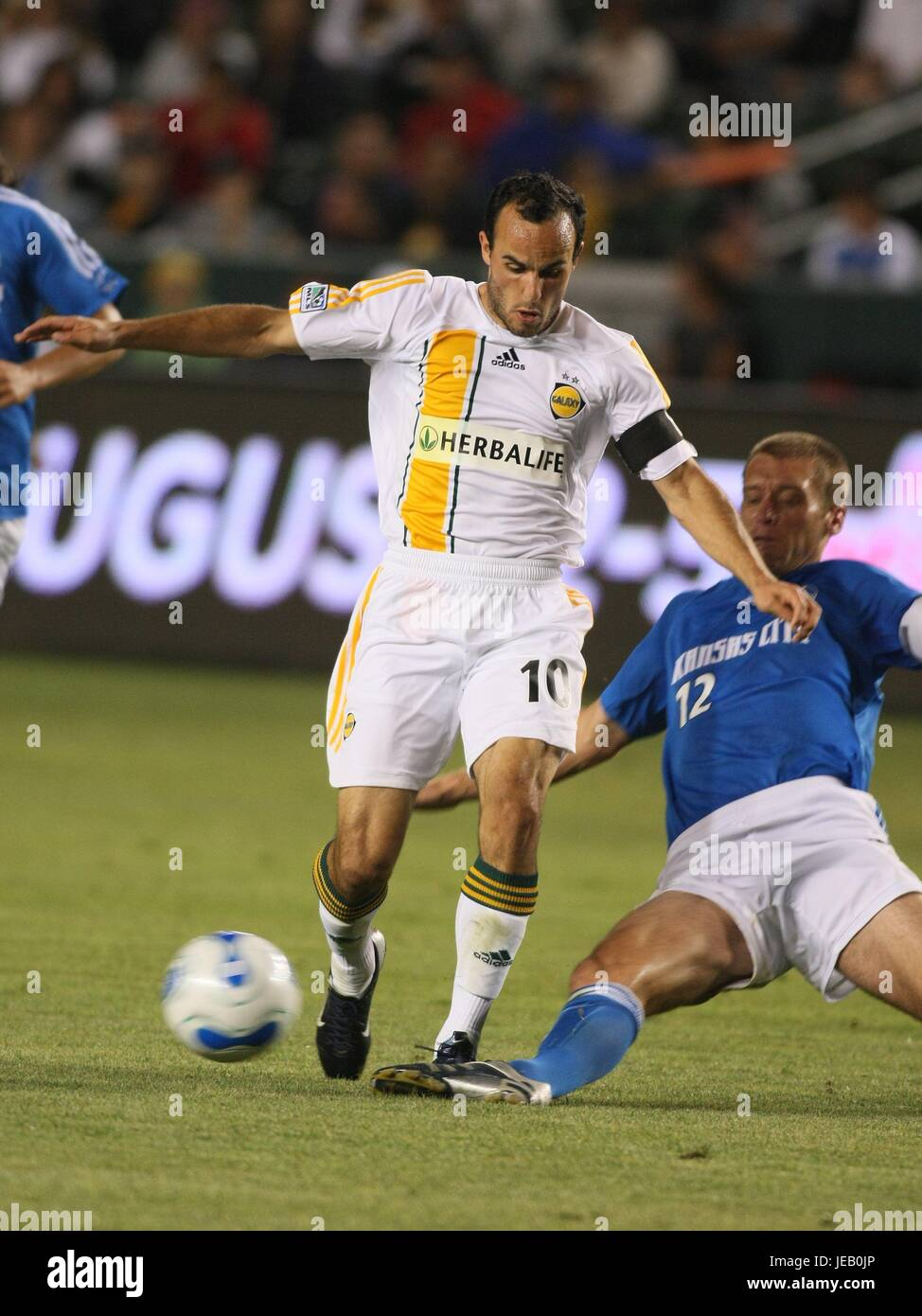453d46b133d LANDON DONOVAN JIMMY CONRAD LA GALAXY V KANSAS CITY HOME DEPOT CENTER  CARSON LOS ANGELES USA