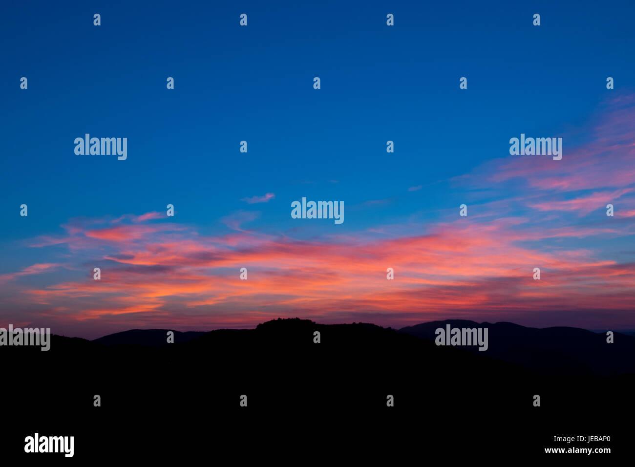 Sunset. - Stock Image