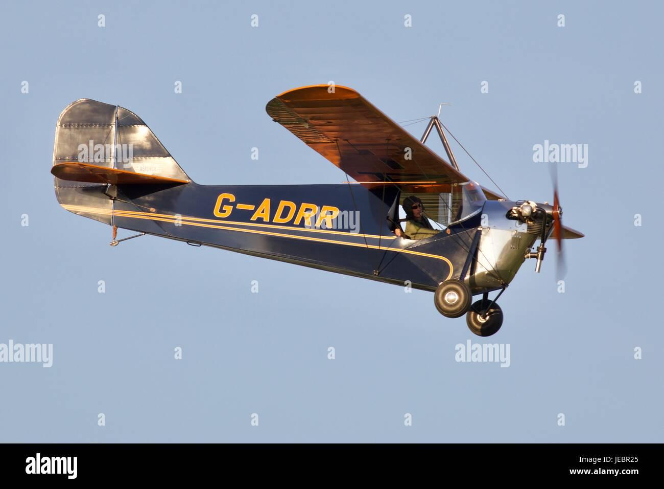 1936 Aeronca C-3 - Stock Image