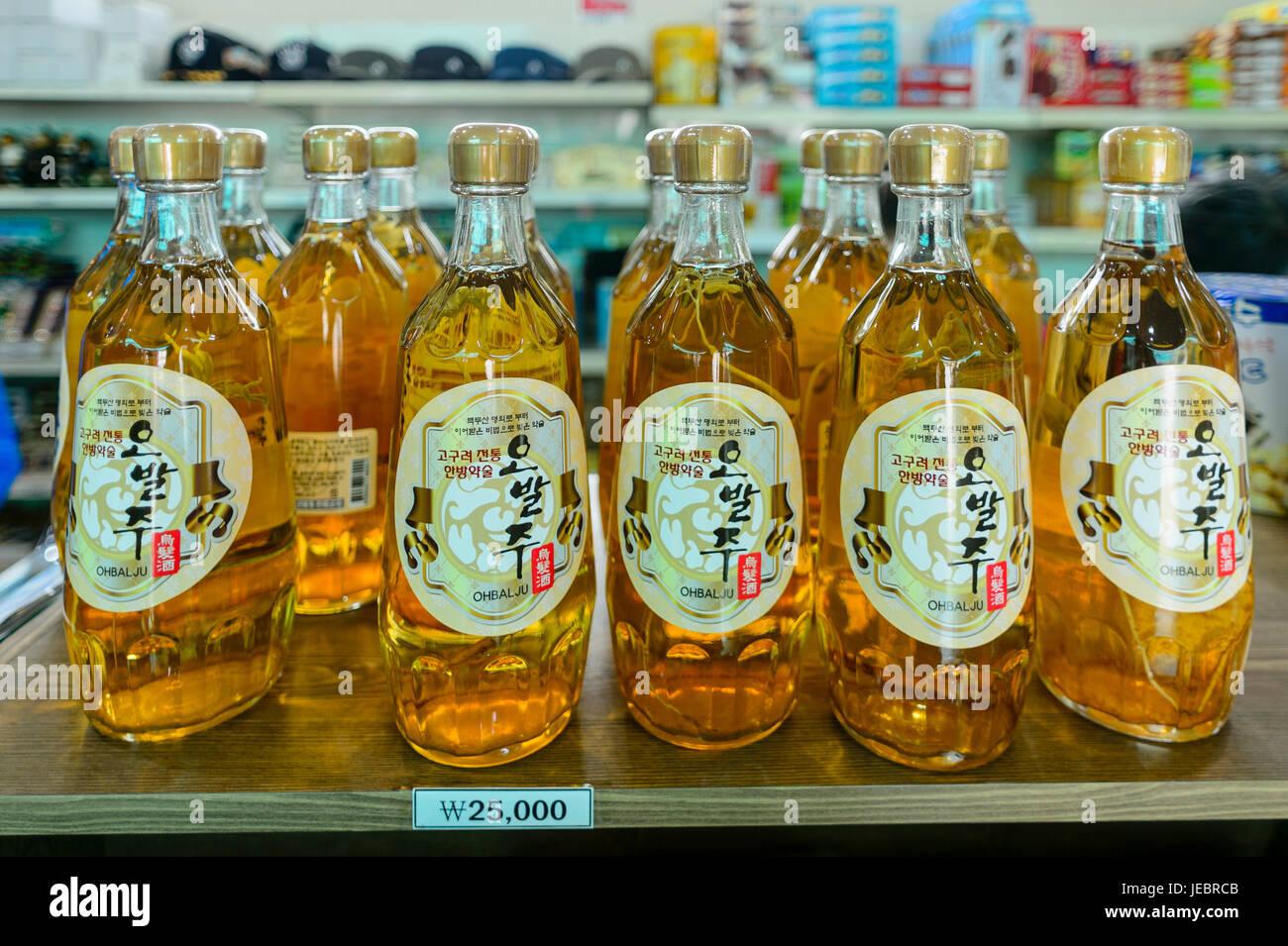 Korean Demilitarized Zone (DMZ) Stock Photo