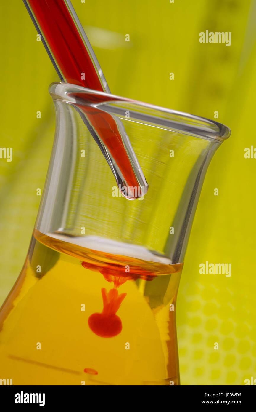 Laboratory, research, test tube, liquid, chemistry, research, chemical laboratory, glass, science, experiment, analysis, - Stock Image